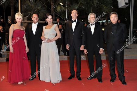 Domenico Procacci, Loredana Simioli, Nunzia Garrone, Matteo Garrone director, Nando Paone