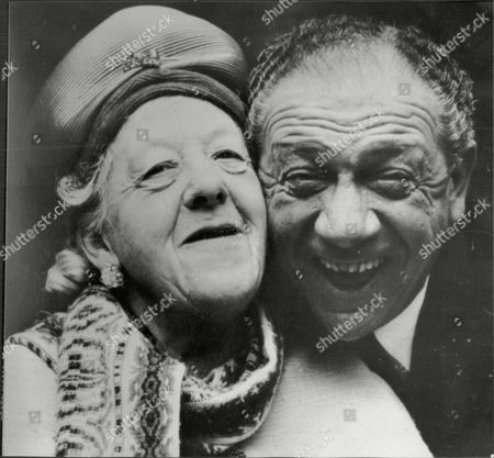 Margaret Rutherford And Sid James Who Star In The Solid Gold Cadillac