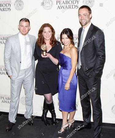 Stock Picture of Channing Tatum, Deborah Scranton, Jenna Dewan and Reid Carolin