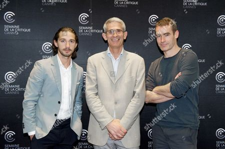 Shia LaBeouf, Charles Tesson and Rufus Norris