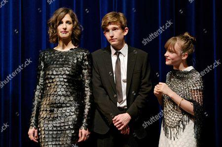 Stock Image of Zana Marjanovic, Bill Milner and Eloise Laurence