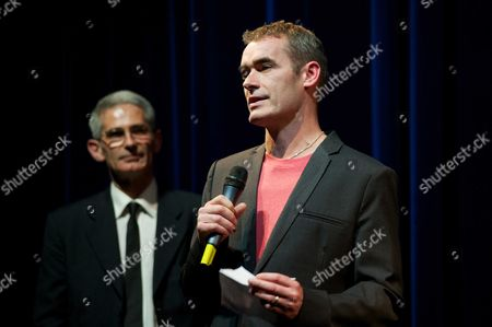 Stock Picture of Charles Tesson and Rufus Norris