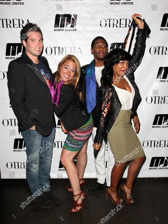 Stock Picture of Matt White, Michelle Edgar, Jon Batiste and Melanie Fiona