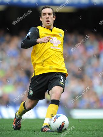 Gael Givet of Blackburn Rovers