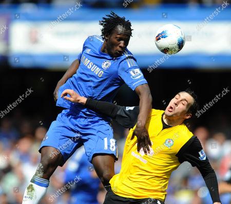 Editorial image of Chelsea Vs. Blackburn Rovers, Barclays Premier League, Stamford Bridge, England, Britian  - 13 May 2012