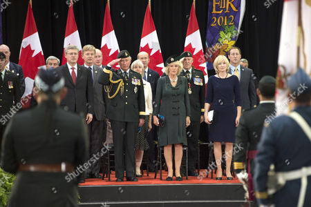 Stephen Harper, Prince Charles, Camilla Duchess of Cornwall and Laureen Harper