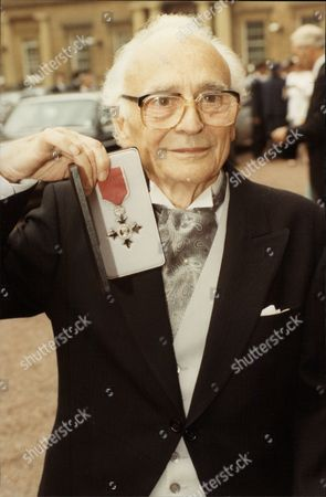 Actor Kenneth Connor (dead 11/93) At Buckingham Palace After His Investiture