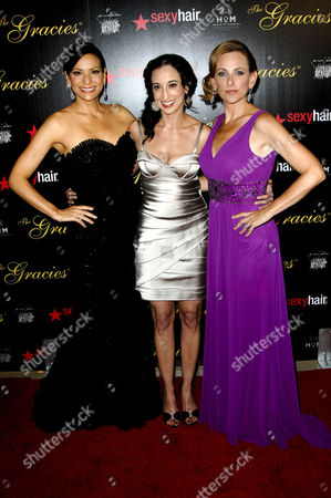Constance Marie, Lizzy Weiss and Marlee Matlin