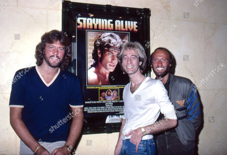 The Bee Gees - Barry Gibb, Robin Gibb and Maurice Gibb