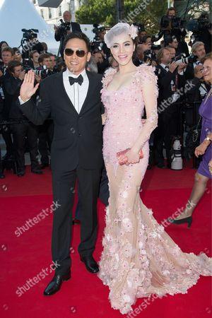 Feng Shaofeng (L) and Yao Xingtong