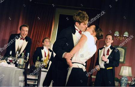 'Posh' - Edward Killingback as Miles, Jessica Ransom as Rachel