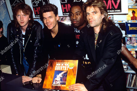 'Big Country' - Bruce Watson, Stuart Adamson, Tony Butler and Mark Brzezicki