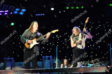 Dave Murray Janick Gers