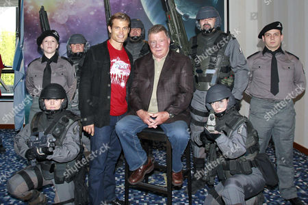 Casper Van Dien and William Shatner
