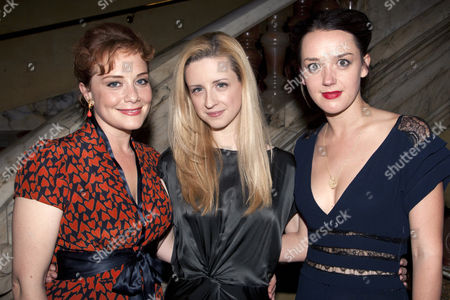 Charlotte Lucas (Charlie), Laura Wade (Author) and Jessica Ransom (Rachel)