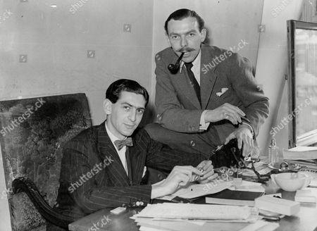 Dennis Norden and Frank Muir