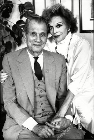 Editorial photo of Actor Joseph Cotten With Wife Actress Patricia Medina Joseph Cheshire Cotten (may 15 1905 A February 6 1994) Was An American Actor Of Stage And Film. Cotten Achieved Prominence On Broadway Starring In The Original Stage Productions Of The Philadelphi
