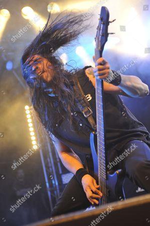 Editorial photo of Hard Rock Hell 2010 - Blaze Bayley