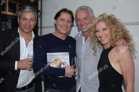 Guest, Guest, John Gardner and Kelly Hoppen