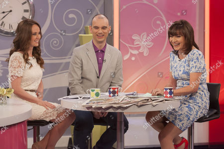 Editorial image of 'Lorraine Live' TV Programme, London, Britain - 24 May 2012