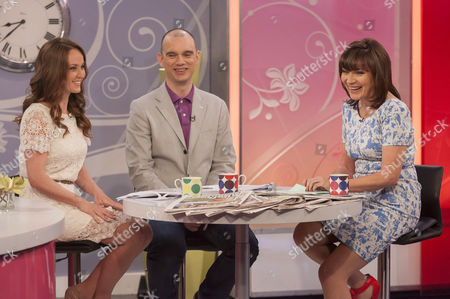 Editorial photo of 'Lorraine Live' TV Programme, London, Britain - 24 May 2012