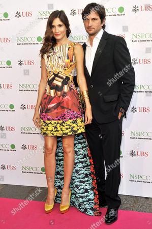 Stock Photo of Astrid Munoz and Eduardo Astrada