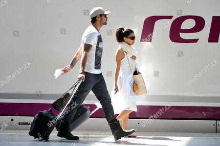 Eduardo Cruz and Eva Longoria