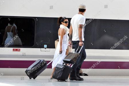 Stock Picture of Eva Longoria and Eduardo Cruz
