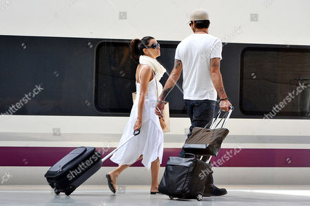Stock Photo of Eva Longoria and Eduardo Cruz