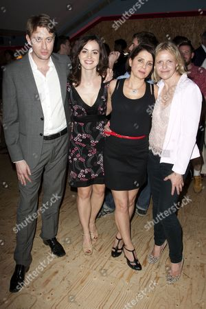 James Phillips (Director), Sally Humphreys (Producer), Sadie Frost (Lesley) and Zoe Lewis (Author)