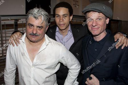 Darrell D'Silva (Michael), John MacMillan (Castro) and Trevor Fox (Gordon)