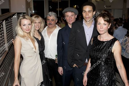 Emily Berrington (Effie), Beth Cordingly (Louisa), Darrell D'Silva (Michael), Trevor Fox (Gordon), John MacMillan (Castro) and Sally Rogers (Sally)