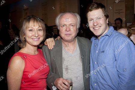 Karen Lewis, Michael Attenborough (Artistic Director) and Tom Attenborough