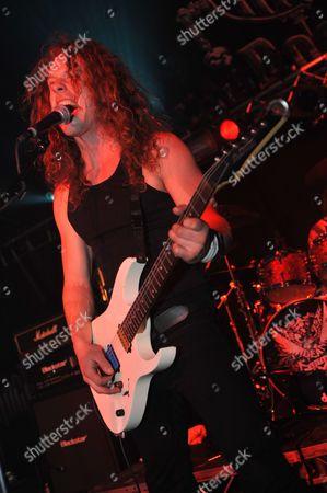 Editorial photo of Hard Rock Hell 2010 - Jett Black