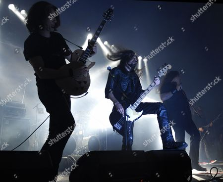 Stock Image of Alex Skolnick and Greg Christian and Chuck Billy
