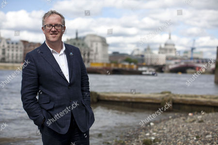Adrian Evans, the Pageant Master of this years Diamond Jubilee celebrations on the river Thames, London