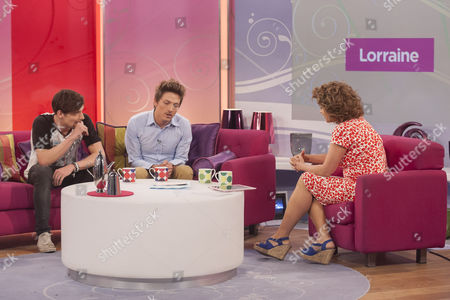 The Voice - Max Milner and Tyler James with Nadia Sawalha