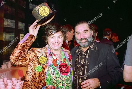 Screaming Lord Sutch and George Best