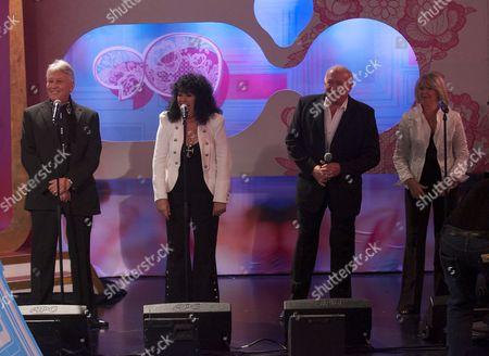 Stock Photo of Brotherhood Of Man - Lee Sheridan, Nicky Stevens, Martin Lee and Sandra Stevens