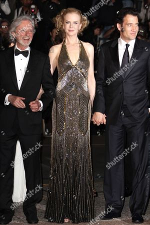 Philip Kaufman, Nicole Kidman and Clive Owen