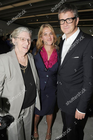 Pamela Cashin, Tracey Emin and Jay Jopling