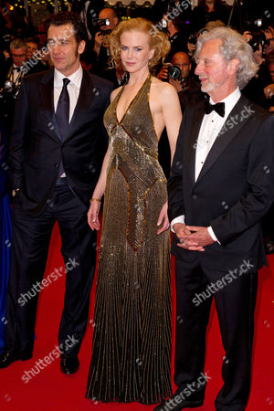 Clive Owen, Nicole Kidman and Director Philip Kaufman