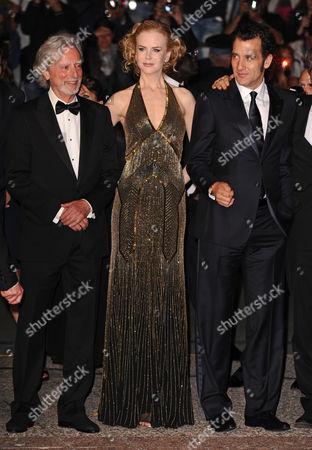 Director Philip Kaufman, Nicole Kidman and Clive Owen