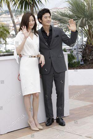 Kang-woo Kim and Hyo-jin Kim