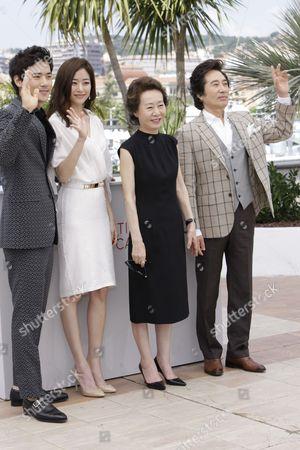 Kim Kang-woo, Kim Hyo-jin, Youn Yuh-jand and Baek Yoon-sik