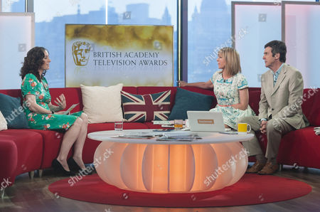 Stock Picture of Polly Graham with Kate Garraway and John Stapleton