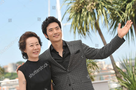 Stock Picture of Yuh-jung Youn and Kang-woo Kim