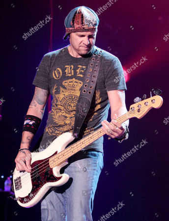 Stock Photo of Todd Harrell - 3 Doors Down