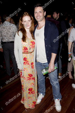 Clare Foster and Sean Palmer