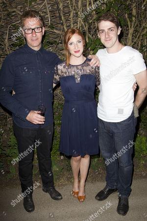 David Birrell, Rosalie Craig and Harry Hepple